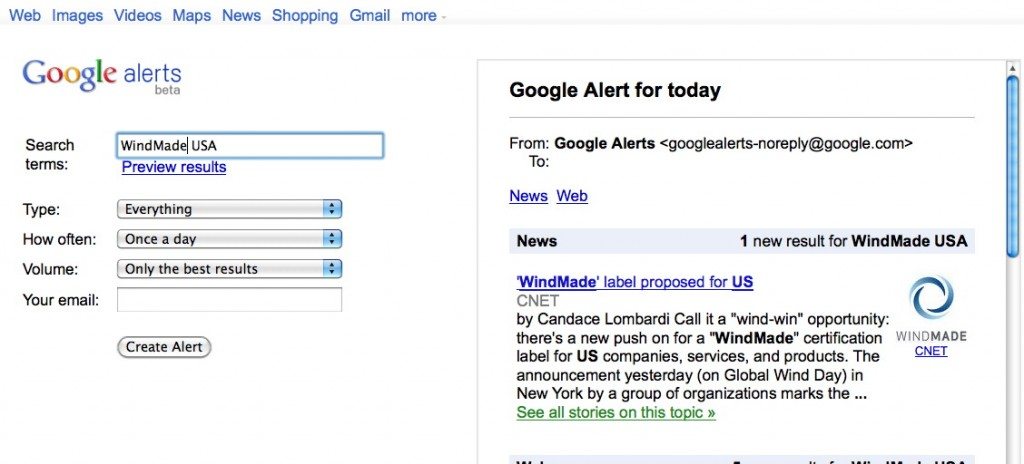 how to use google scholar alerts