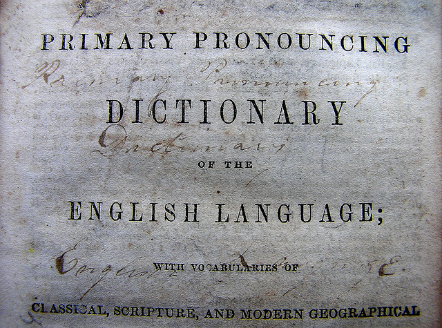 Pronouncing Dictionary, flickr