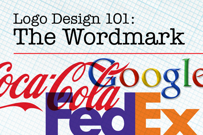 logo design 101: the wordmark