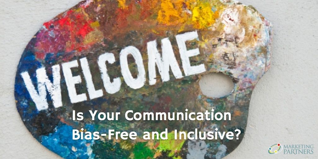 Is Your Communication Bias-Free and Inclusive? - palette of mixed colors